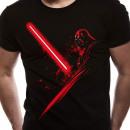 T-Shirt Darth Vader Star Wars Shadow Sabre Laser T