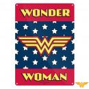 grossiste Autre: Petite Plaque  Métallique Wonder Woman Logo