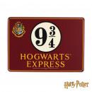 groothandel Fournituren & naaigerei: Small Plate  Metallic Harry Potter - Hogwarts E