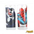 Glasses Spiderman & Venom - Set of 2