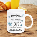 grossiste Tasses & Mugs:Mug Mon Frère