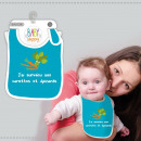 wholesale Child and Baby Equipment: Baby Bibs Humorous Variations: I Survived