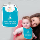 wholesale Child and Baby Equipment: Baby Bibs Humorous Variations: It is jam