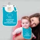 Großhandel Kinder- und Babyausstattung: Baby-Lätzchen  Humoristique  Variationen: ...