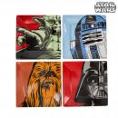 Plates Characters Star Wars Melamine - Lot