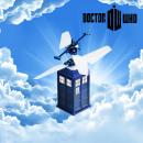 Tardiscopter the Tardis Radio Control Flying Dr Wh