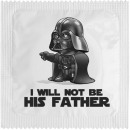 Condom Darkapote - I will not be his father