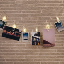 grossiste Chaines de lumieres: Guirlande Pinces  Porte-Photos Lumineuses