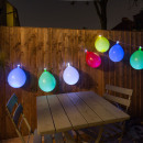 grossiste Chaines de lumieres: Guirlande  Lumineuse Ballons Multicolores