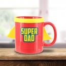 Papa Mug in Cape - Super Dad