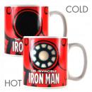 Mug Thermoreactive Iron Man Marvel