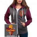La mujer de la chaqueta de Harry Potter Gryffindor