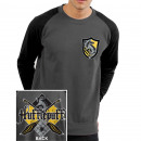 wholesale Pullover & Sweatshirts: Sweat Col Rond  Harry Potter Hufflepuff Sizes: L