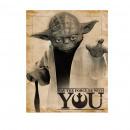 mayorista Otro: Cartel de Star  Wars Yoda - Que la fuerza esté con