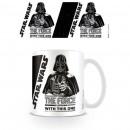 Darth Vador Star Wars Mug - The Force is Strong