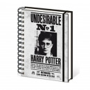 mayorista Otro: Cuaderno espiral  Harry Potter indeseable No. 1