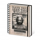 Harry Potter Wanted Spiral Notebook