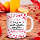 Il giorno di San Valentino mug Ti amo ogni giorno