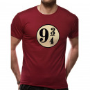 Harry Potter Express Way T-Shirt 9 3/4 Sizes: XL