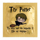 Condom Try Potter Do you want to see my Wand?