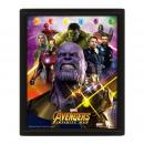 Superhero Marvel Avengers 3D Effect Frame