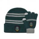 Großhandel Schals, Mützen & Handschuhe: Harry Potter Kid Set - Mütze und Berührungshandsch