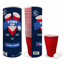wholesale Beverages: Hexagonal Beer Pong Kit - Square Cup