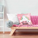 wholesale Cushions & Blankets: Pillow cover Never without my Unicorn