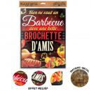 wholesale Barbecue & Accessories: Barbecue Metal Plate Brochette d'Amis