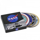 wholesale Drinking Glasses: Nasa Buttons Coasters - Set of 4