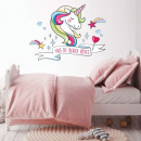 wholesale Wall Tattoos: Rainbow Unicorn Wall Sticker - Fais de Beaux