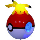 Radiowecker Leuchtender Pokemon Pikachu Pokeball