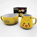 Pikachu Pokemon Breakfast Set