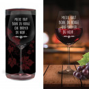 wholesale Drinking Glasses: Large Wine Glass Quote Declinations: DRINK