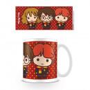 Harry Potter Chibi Mug - Harry, Ron & Hermione