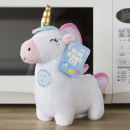 Plush hot water bottle animals microwave declinati