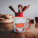 Crab mug I clip for you