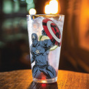 wholesale Drinking Glasses: Thermoreactive Captain America Marvel glass