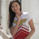 nagyker Gyerek- és babaruha: T-Shirt Wonder Woman női fehér Méretek: T-shirt W