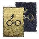 wholesale Business Equipment: Harry Potter Black and Gold Sequins Notebook