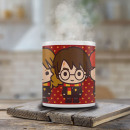 wholesale Houseware: Harry Potter Chibi Mug - Harry, Ron & Hermione