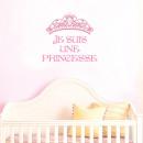 nagyker Faltetoválás: Tiara matricák vagyok hercegnő