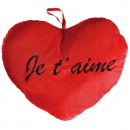 wholesale Cushions & Blankets: Pillow Heart Red Giant Je T'Aime