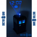 Dr Who Tardis Clock Projection