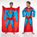 wholesale Bed sheets and blankets: blanket fleece sleeves Superman