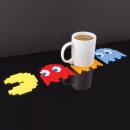 4er Pack Coaster PacMan