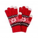 wholesale Gloves: Touch Gloves  Snowflakes Variations: Gloves