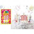Las figuras Variaciones velas de cumpleaños: Velas