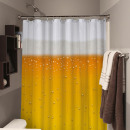 wholesale Bath & Towelling:Beer Shower Curtain