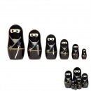 Mini Ninja Russian Dolls